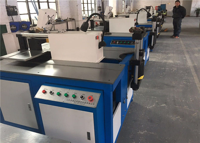 Hydraulic CNC Metal Cutting Machine / Busbar Processing Machine Multifunction