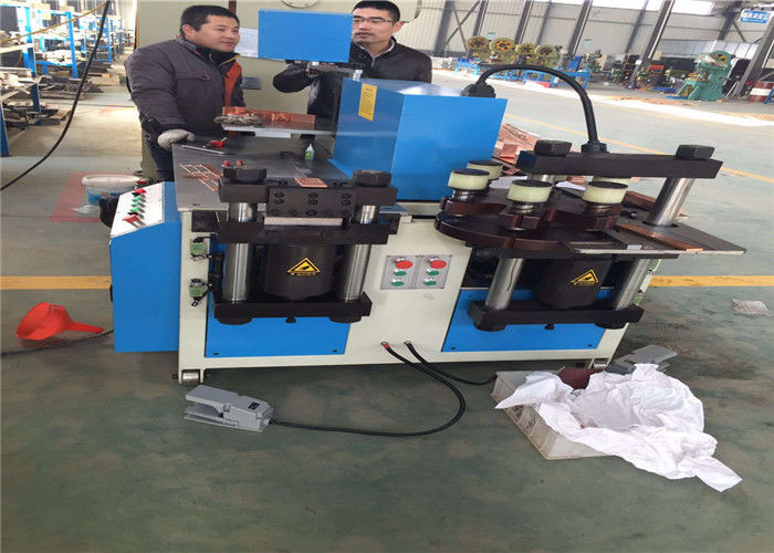 Multifunction Metal Hole Punch Machine , CNC Busbar Processing Machine