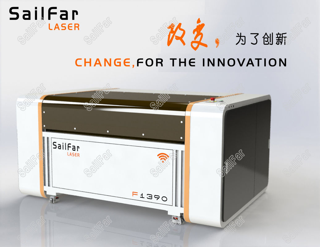 100W CNC Laser Cutting Machine For Acrylic / Rubber / Plywood / Rubber 1300 X 900MM