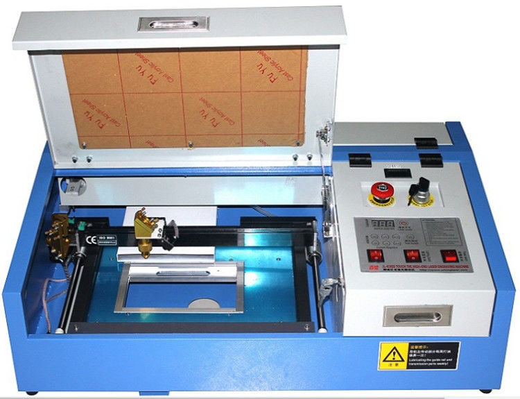 3020 Mini Laser Engraving Machine , CO2 Laser Engraver With Water Pump