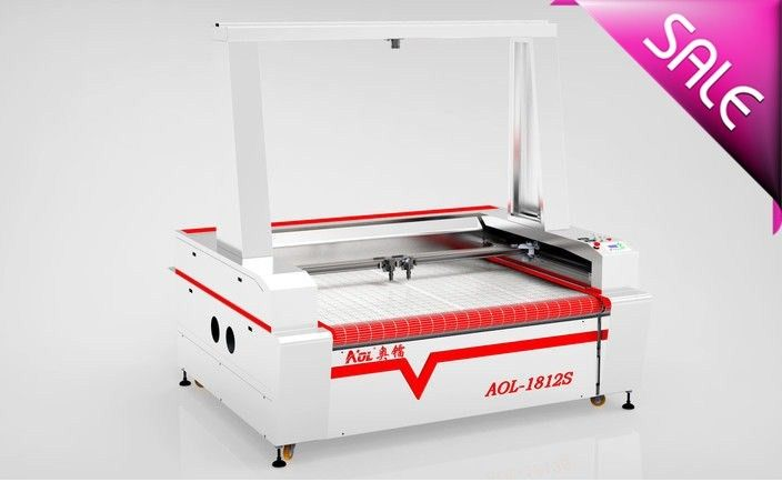 1610 Auto Feeding CO2 Laser Cutting Machine With DSP Offline Control System