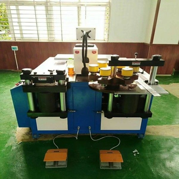 16x260mm CNC busbar copper bending cutting punching machine for power industry