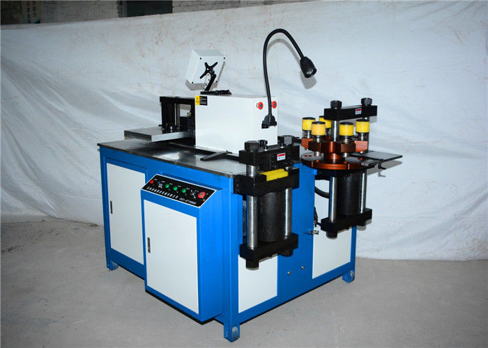Multifunction CNC Busbar Bending Cutting Punching Machine 3 In 1 High Accuracy